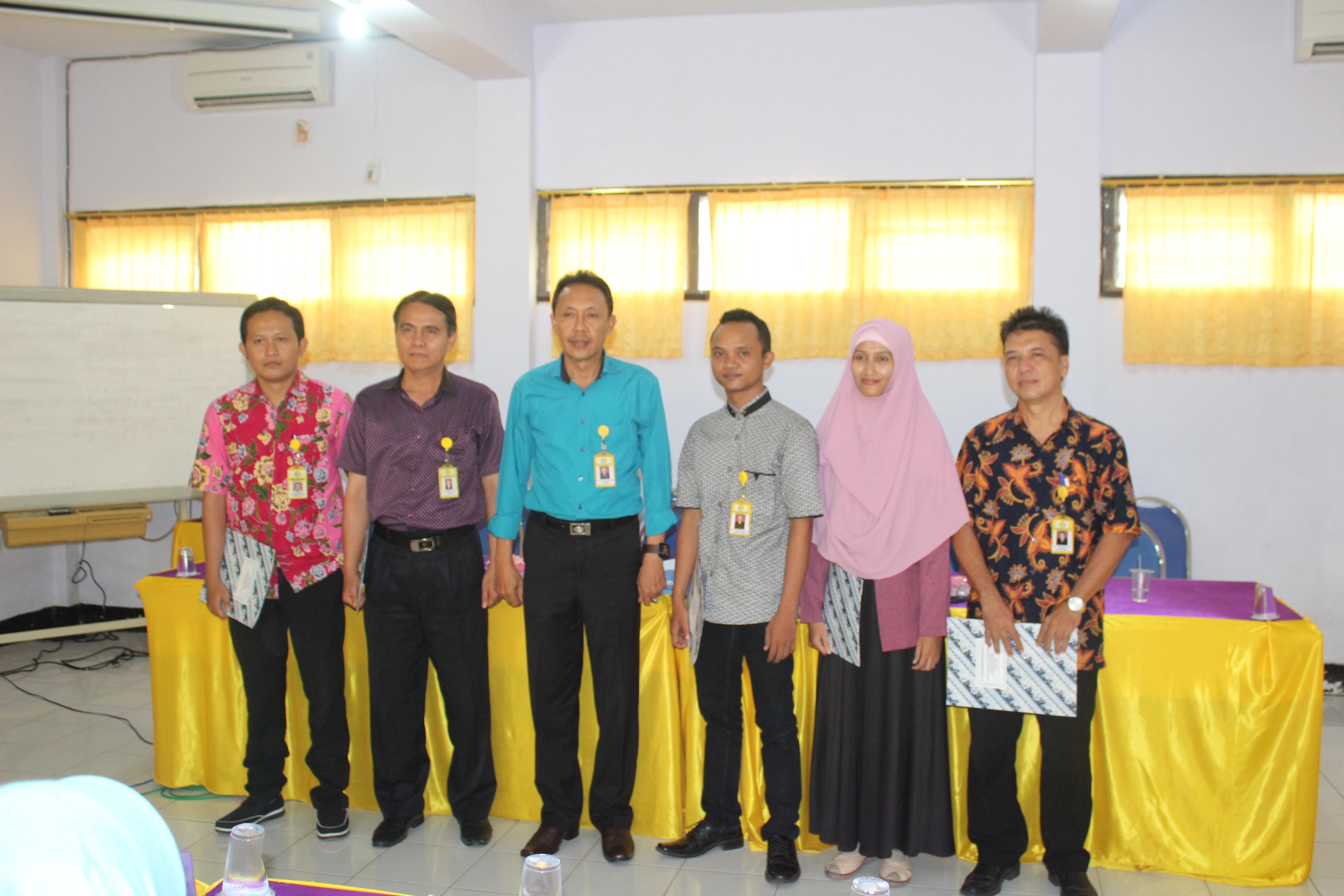 Pelantikan Wakil Dekan dan Kaprodi di Lingkungan Universitas Panca Marga Probolinggo Masa Bakti 2019 – 2023