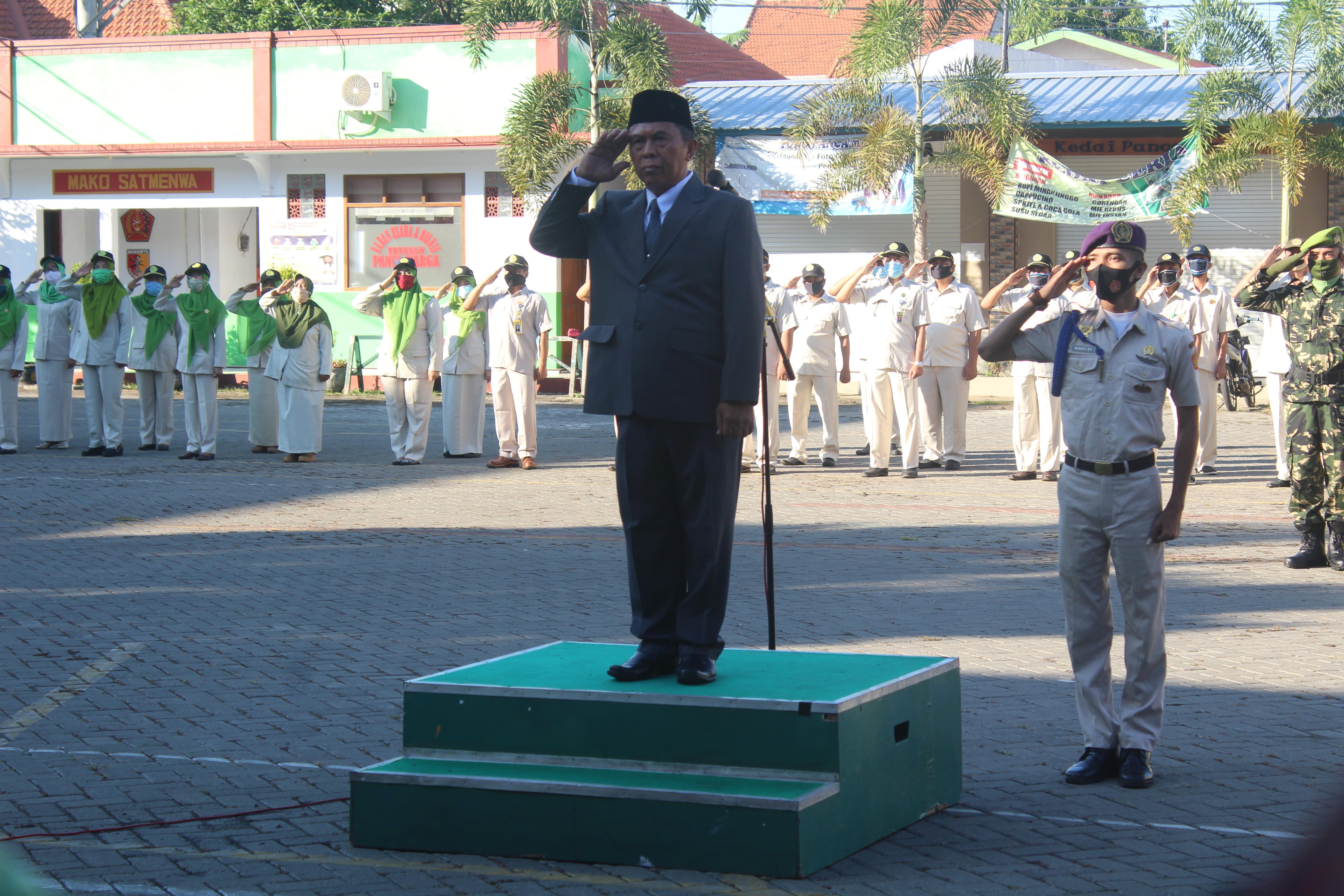 UPM Probolinggo gelar upacara HUT RI ke 75
